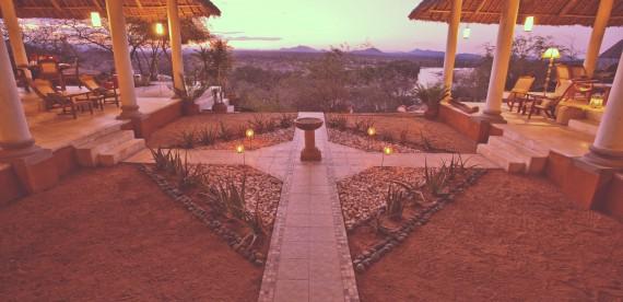 Safári chique na Tanzânia