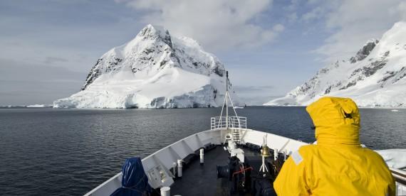 Cruzeiro de luxo na Antártida