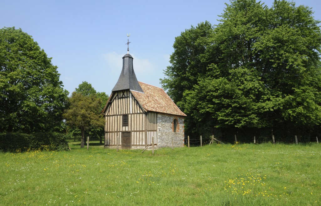 France, la Chapelle de l Essart Mador in Lyons la Foret