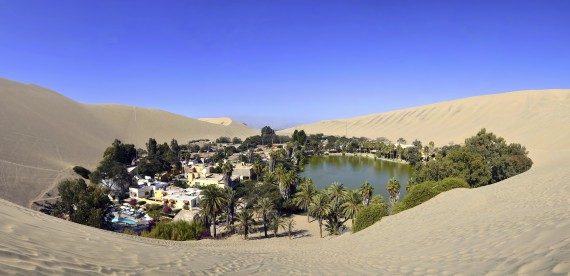 Huacachina – um oásis no deserto do Peru