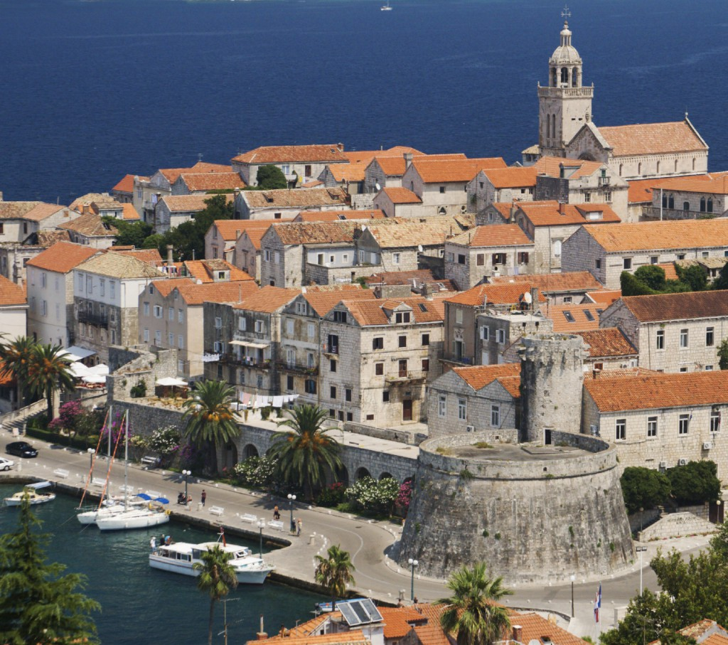 City of Korcula, Croatia