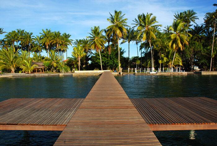 Pier do Hotel Kiaroa