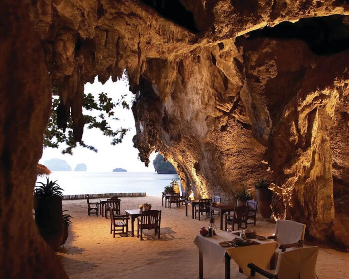 Restaurante The Grotto, Tailândia