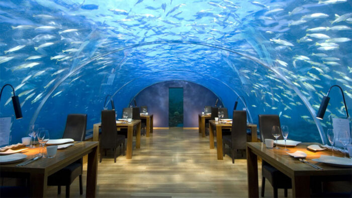 5.Ithaa Undersea Restaurant, Rangali Island