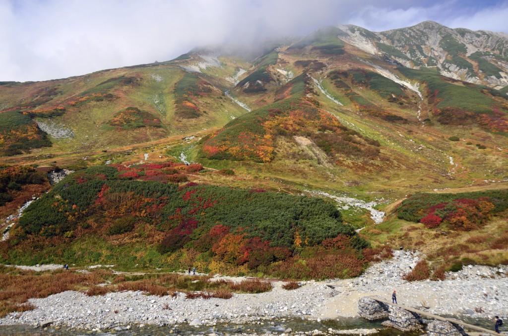 Montanhas em Toyama