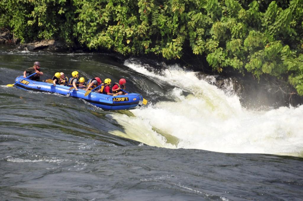 Rafting no Nilo Azul