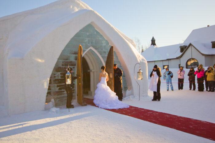 Casamento no Hotel de Glace