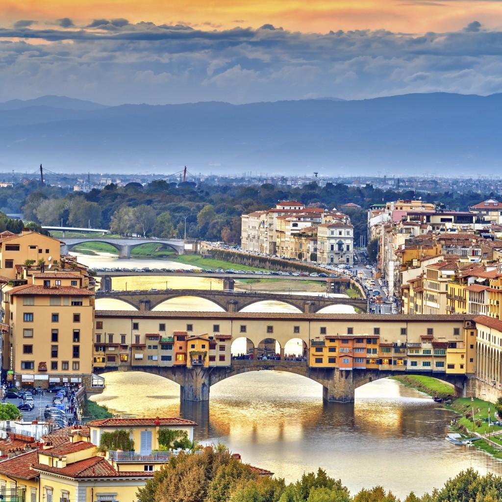 Pontes sobre o rio ArnO