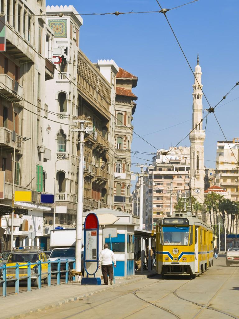 Parada de bonde de Alexandria