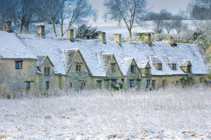Casas no Inverno
