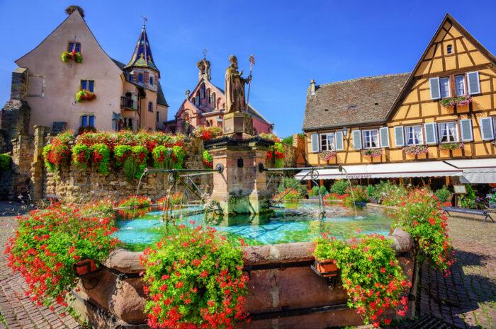 Eguisheim na Alsácia, uma das vilas mais lindas da França |