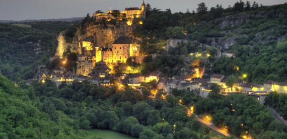 O vilarejo de Rocamadour levará você a uma viagem de sonhos
