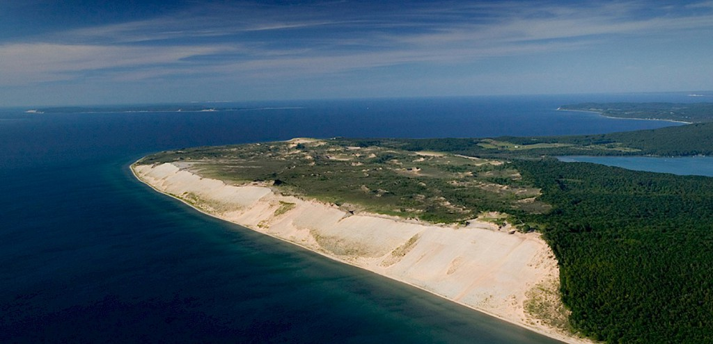 Sleeping Bear Dunes National Lakeshore, em Michigan