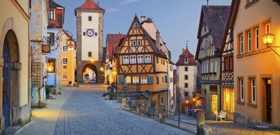 Rothenburg, uma viagem no tempo na Alemanha
