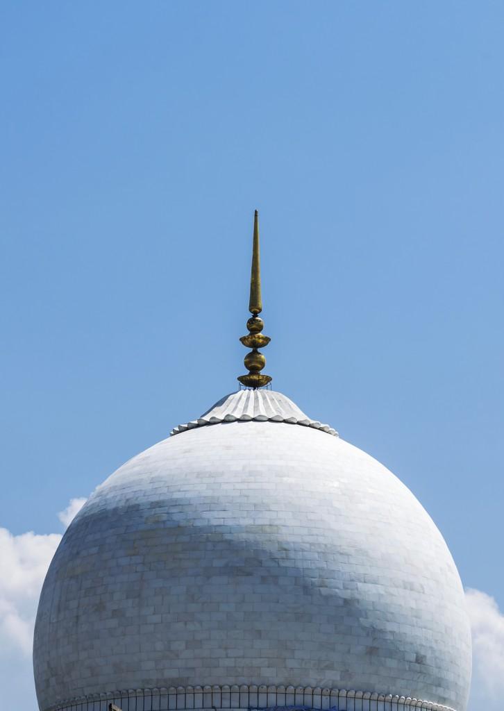 Cúpula da Mesquita de Hazratbal, Srinagar