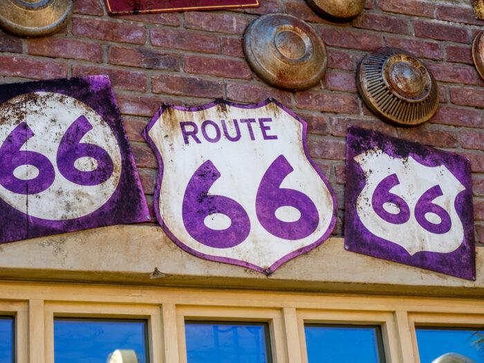 Vintage Route 66