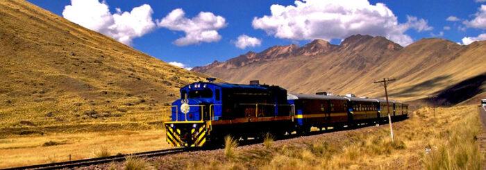 Viagem de trem de Cuzco até o Lago Titicaca