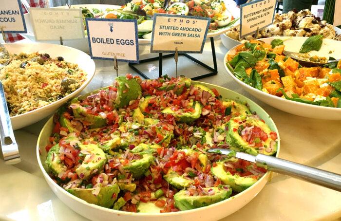 Ethos, um excelente restaurante vegetariano e vegano