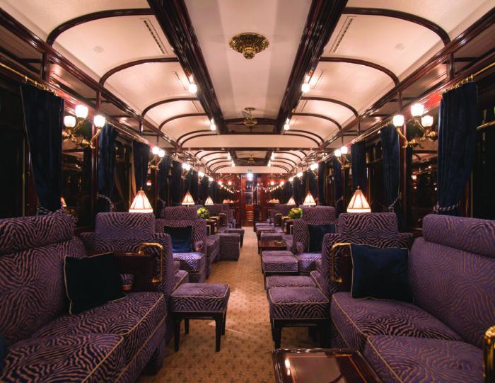 O trem Venice Simplon-Orient-Express