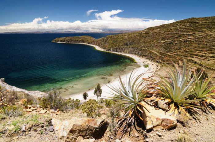 Lago Titicaca, Bolívia, Isla del Sol