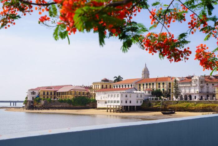 Vista para a Cidade Velha do Panamá