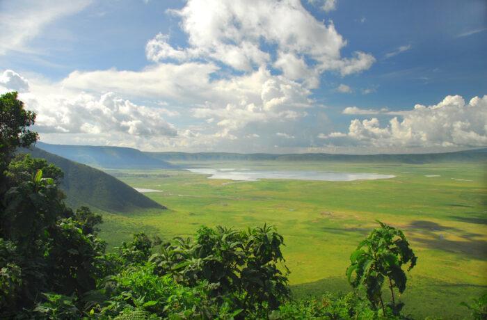 Área de Conservação de Ngorongoro cratera
