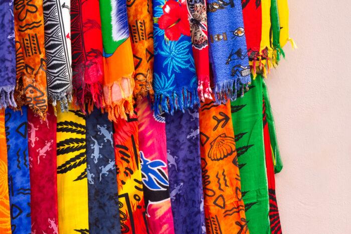 Lado de fora de uma loja no Zanzibar