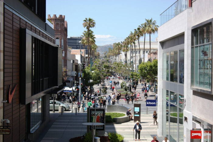Shopping Center em Santa Monica