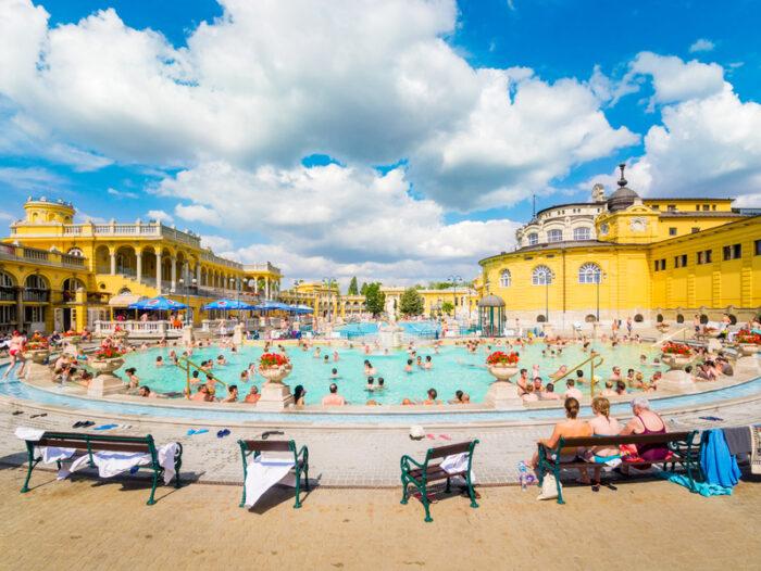Lukacs banhos termais de Budapeste