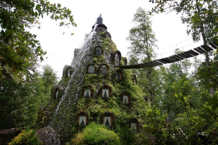 Reserva de HuiloHuilo ,Montanha Mágica Lodge.