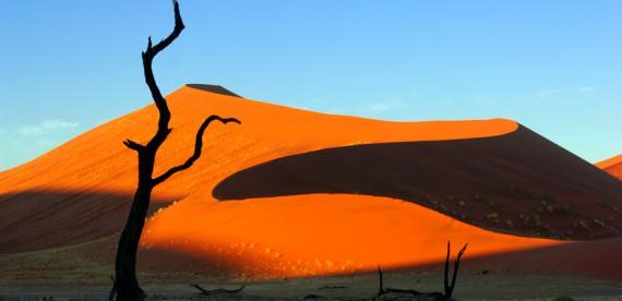 Sossusvlei, as maiores dunas do mundo na Namíbia