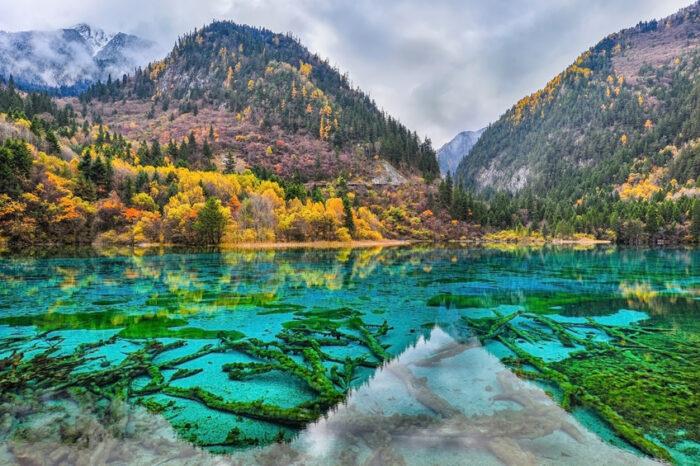 Lago de cinco cores