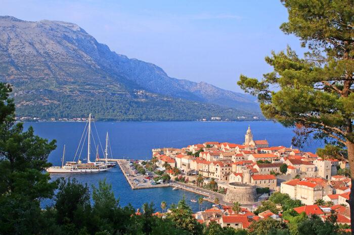 Ilha Korcula, Dubrovnik, Croácia,