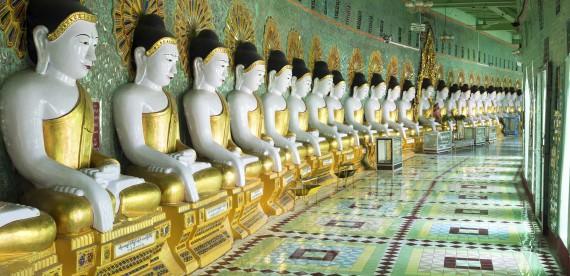 O exótico país Myanmar