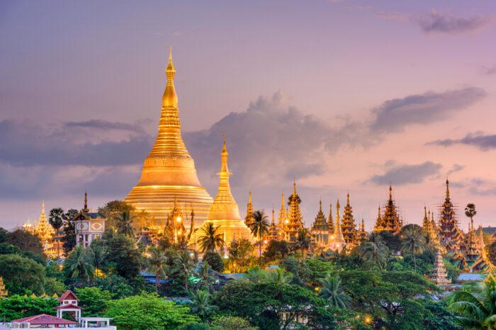 O Pagode de Shwedagon