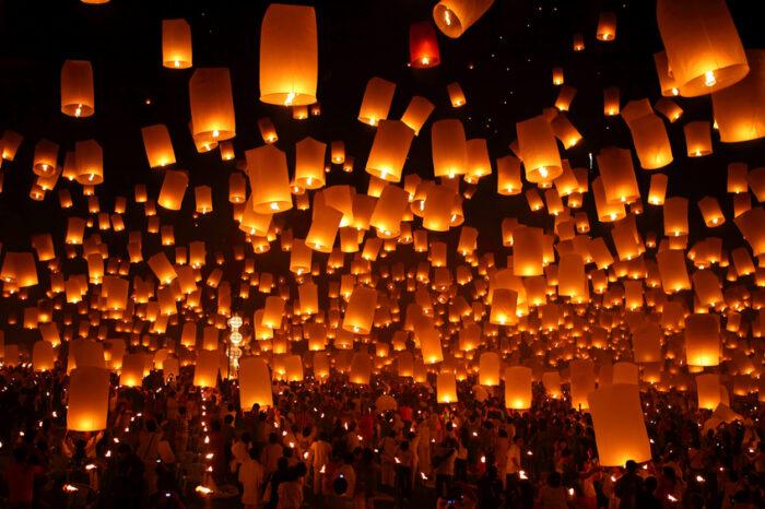 Yi Peng – Festival das Lanternas, Tailândia