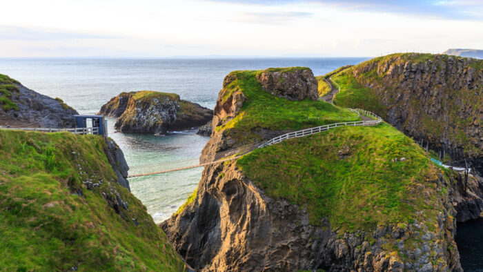 Carrick-A-Rede corda na Irlanda do Norte