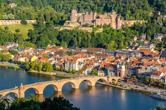 Vista em Heidelberg