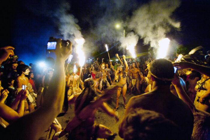 Dança de Tapati Rapa Nui