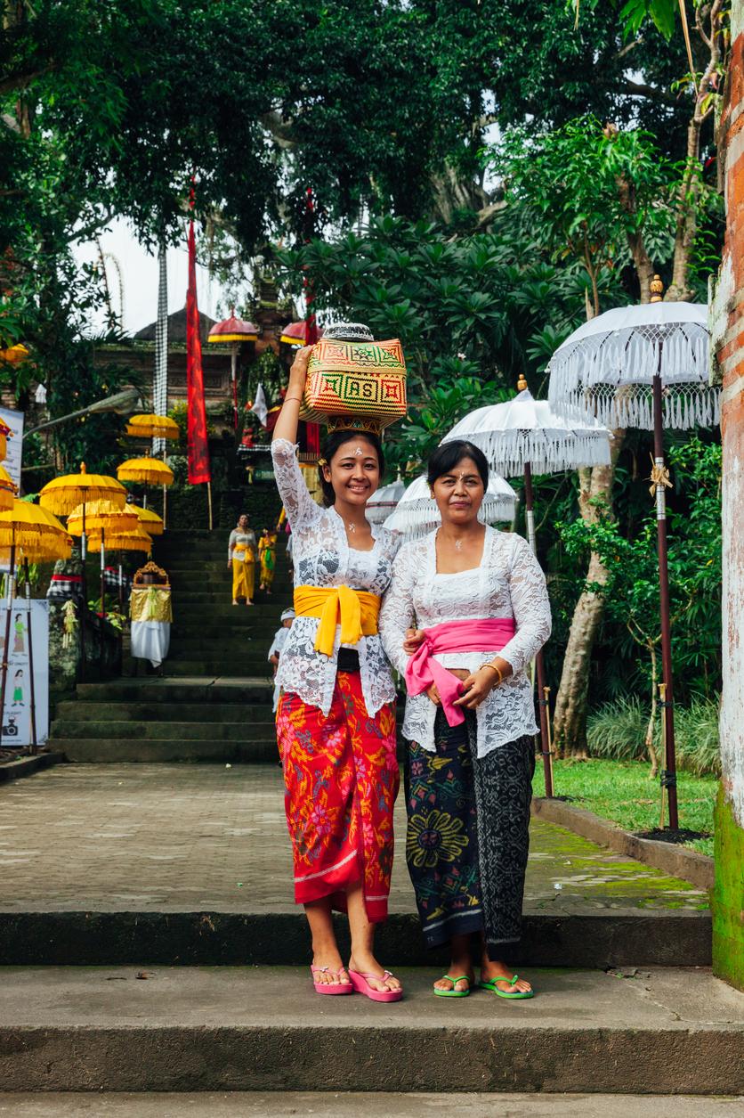Mulheres de Bali