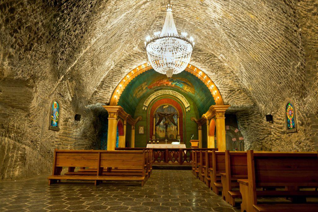 Capela em Mina de Sal Wieliczka Polônia