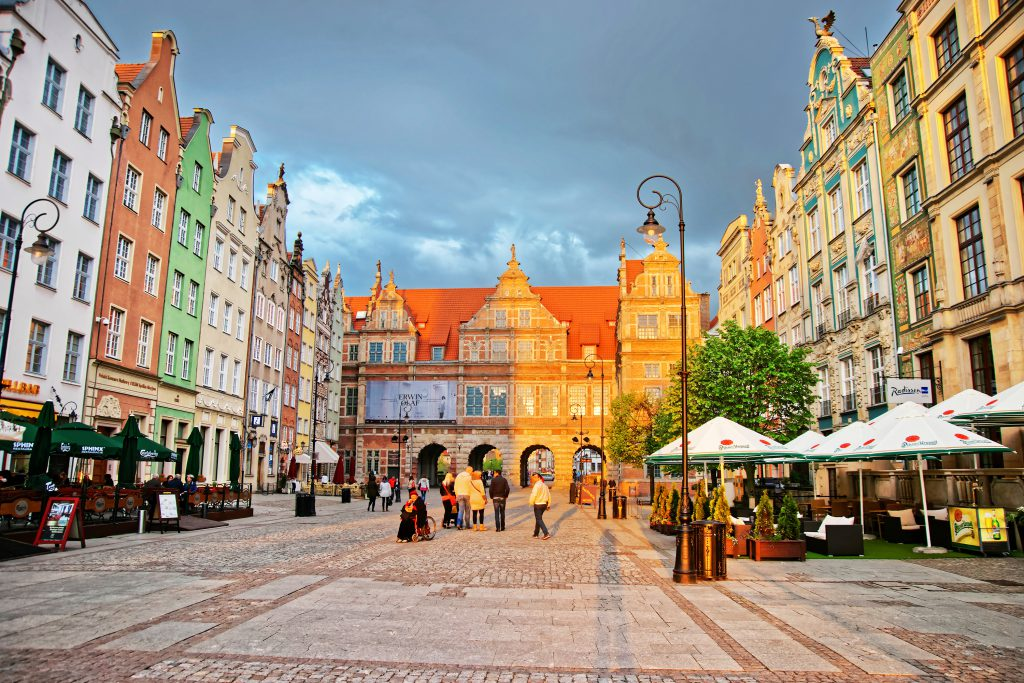 Long Market Square , Gdansk