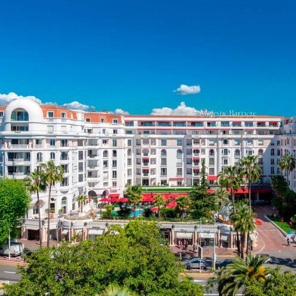 O hotel Barrière le Majestic em Cannes, Riviera Francesa